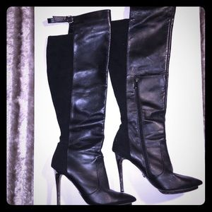 Victoria Secret Over The Knee High Boots